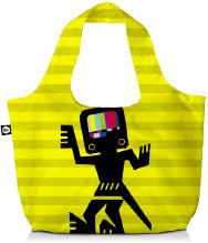 BG Berlin Eco torba na zakupy 3w1 BG Eco Bags - Caveman BG001/01/124