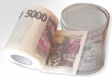 Papier toaletowy - 5000Kč