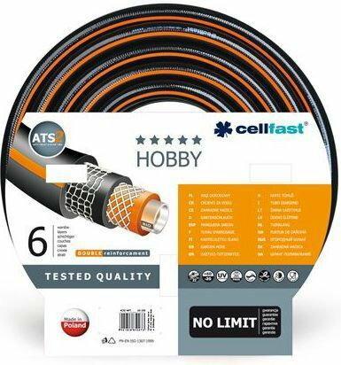 Cellfast Wąż ogrodowy HOBBY ATS 6 warstw 1/2 50m (16-201)