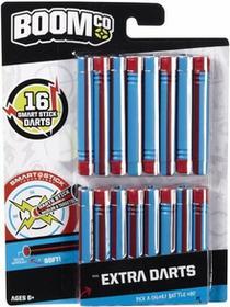 Mattel Boom Co BoomCo Strzałki Niebiesko-Czerwone 16 szt. BGY60