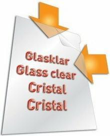 Durable Obwoluta przeźroczysta crystal 0,12mm 100 sztuk