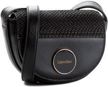 Calvin Klein Torebka BLACK LABEL - Sily4 Mini Half Moon Crossbody K60K602503 001 mała (nie mieszcząca A4)