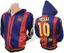 bluza Dresowa FC Barcelona Messi 10 Rozpinana Kaptur