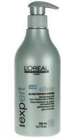 Loreal PROFESSIONNEL EXPERT Silver Szampon do Włosów Mocno Rozjaśnionych lub siwe 500ml