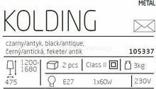 Markslojd Lampa podłogowa KOLDING (105337) –