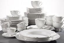 OXFORD VICTORIA - Zastawa stołowa obiadowo-kawowa 42 części dla 6 osób