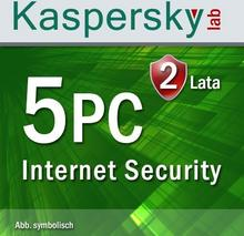 Kaspersky Internet Security Multi Device 2017 5 PC 2 lata
