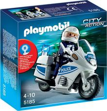 Playmobil Motor policyjny z modułem świetlnym 5185