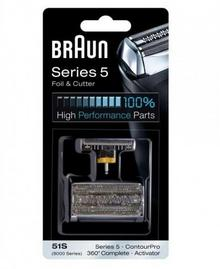 Braun Folia + Blok ostrzy 51S Series 5