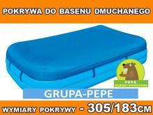 Bestway POKRYWA NA BASEN DMUCHANY 305/183cm 58108