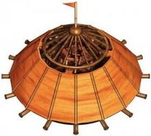Smily Play Czołg wielolufowy Leonardo da Vinci - model do samodzielnego składani