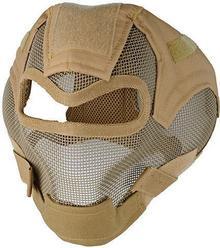 ULTIMATE Tactical Pełna maska stalowa V7 - Tan (MAS-63-TAN) G