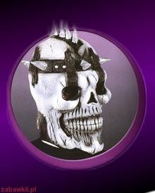 Sezamik inni Halloween Maska Wojownik Skull i 8308H