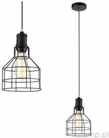 Italux Lampa wisząca SYNTHIA MDM2266-1 OPRAWA metalowa Zwis druciany Czarny