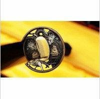 Kuźnia mieczy samurajskich MIECZ KATANA DO TRENINGU , STAL WYSOKOWĘGLOWA 1095 R3