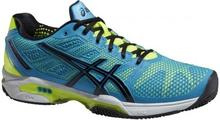 Asics Buty tenisowe Gel-Solution Speed 2 - atomic blue/onyx/flash yellow