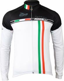 Rogelli team ocieplana bluza rowerowa 001.962, Biały