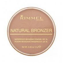 Rimmel Natural brązujący Waterproof Bronzing Powder SPF15 Make up 14g