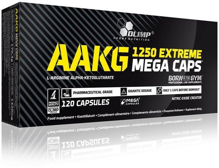 Olimp AAKG Extreme Mega Caps - 120 kaps