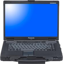 "Panasonic Toughbook CF-52 15,4"", Core i5 2,4GHz, 2GB RAM, 160GB HDD"