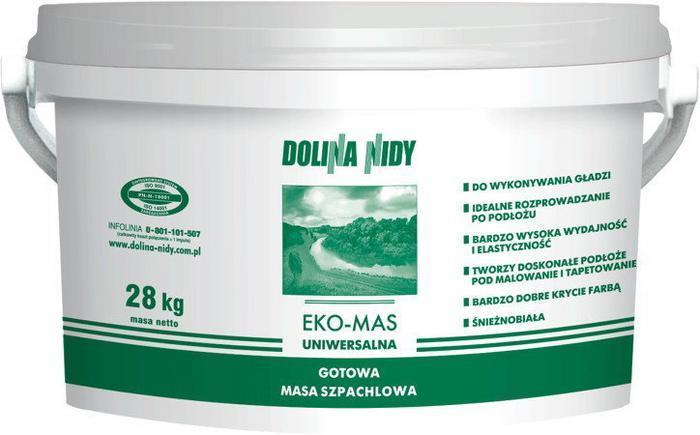 Dolina Nidy Atlas EKO MAS gotowa masa szpachlowa 28kg