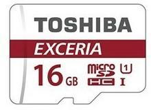 Toshiba microSDHC 16GB CL10 UHS-I