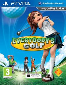 Everybodys Golf PS Vita