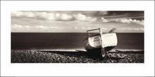 Plaża, Łódka - Obraz, reprodukcja