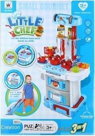 Mega Creative Zestaw kuchnia małego kucharza w walizce