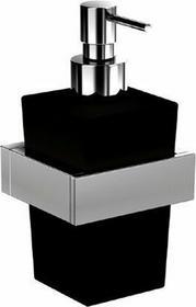 Steinberg 460 dozownik do mydła szklany czarny wiszący 4608002
