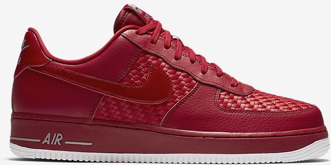 new product 68ac4 9f1f3 Nike Air Force 1 07 LV8 718152-605 czerwony