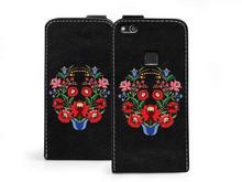 Etuo.pl Flip Fantastic - Huawei P10 Lite - etui na telefon Flip Fantastic - bukiet kwiatów ETHW505FLFCFF016000