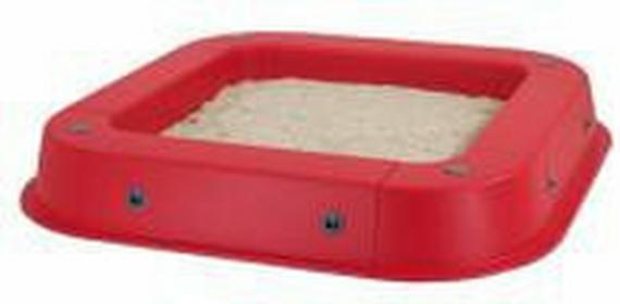 Kettler piaskownica, czerwona S07022-0010