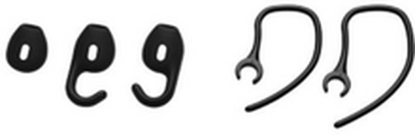 Jabra Wymienny zestaw wkładek do uszu BOOST czarne ODBIERZ OSOBIŚCIE W WARSZAWIE FAKTURA VAT 23% ME-JB-G004