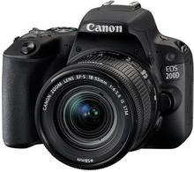 Canon EOS 200D + 18-55 IS STM czarny