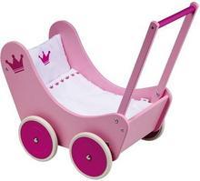 Goki Drewniany wózek dla lalek. Księżniczka 51769