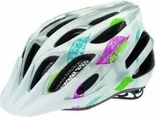 Alpina FB Junior 2.0 Flash - Kask rowerowy młodzieżowy, 50-55cm - White-Silver-F