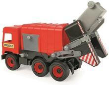 Wader Middle Truck śmieciarka czerwona