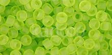 TOHO Round 8o-4F Transparent-Frosted Lime Green - 10 g