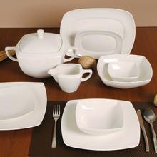 Karolina Serwis obiadowy dla 12 osób porcelana Hiruni
