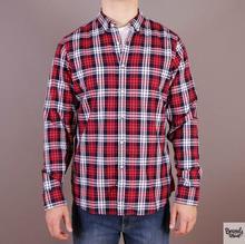 Dickies Koszula Waldron - kolor czerwony