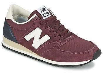 buty new balance u420rbn bordowe