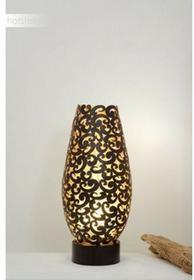 Hollander Holländer ONDULATA lampa stołowa Brązowy, Złoty, 1-punktowy