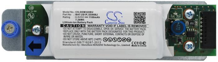 Dell PowerVault MD3200 / 0D668J 1100mAh 7.26Wh Li-Ion 6.6V (Cameron Sino) CS-DEM