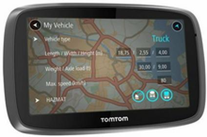 TomTomTrucker 6000 Truck Świat