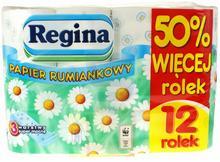 Regina Papier toaletowy rumiankowy 12 szt.