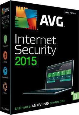 AVG Internet Security 2015 (1 stan. / 2 lata) - Nowa licencja