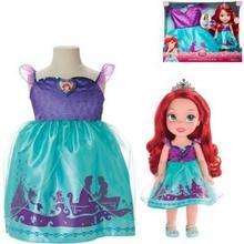 Jakks Pacific JAKKS Arielka + sukienka dla dziewczynek JUJKSK0DCD41646