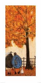 Jesień - Ernest Violet i Doris - Obraz, reprodukcja