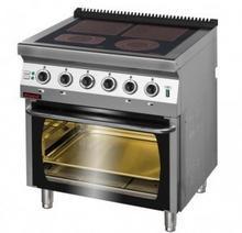 Kromet Kuchnia elektryczna z piekarnikiem elektrycznym 700.KE-4C/PE-2